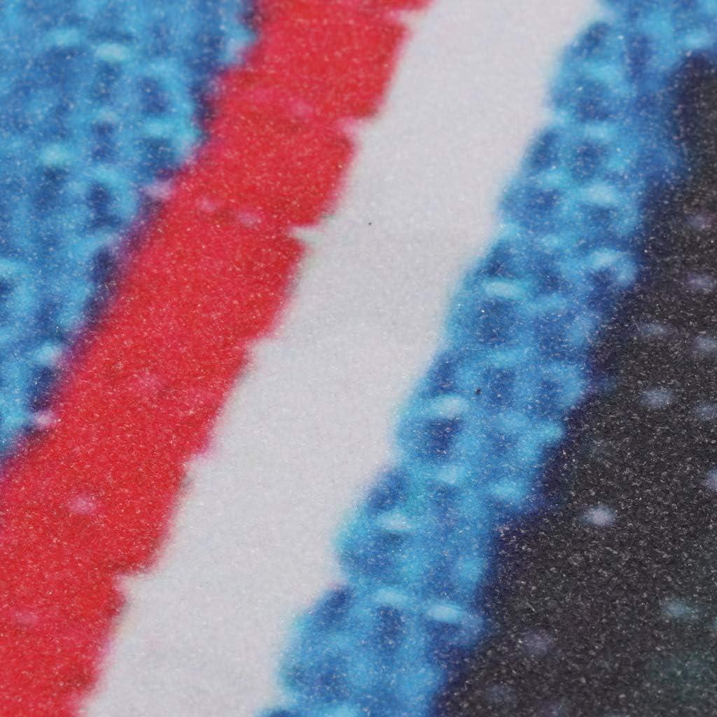 F Fityle Lija de Pat/ín de Reutilizable en Colores Moderno Patineta de Fuerte Adherencia para Costura DIY