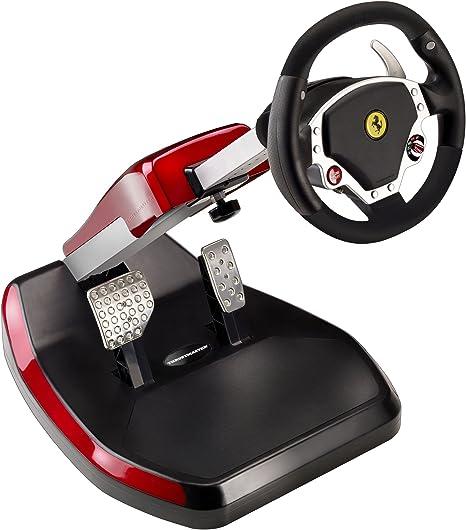Thrustmaster Ferrari Wireless Gt Cockpit 430 Scuderia Amazon De Computer Zubehör