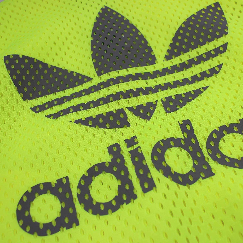 adidas Originals Jeremy Scott Coup Bomber JKT Superstar Veste TT Js Jaune Fluo Jaune