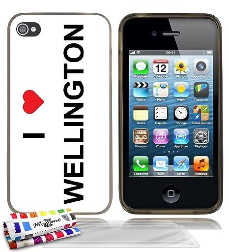 Carcasa Flexible Ultra-Slim iPhone 4/iPhone 4S AU diseño ...