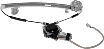 Dorman 751-161 Acura TL Passenger Side Rear Power Window Regulator with Motor