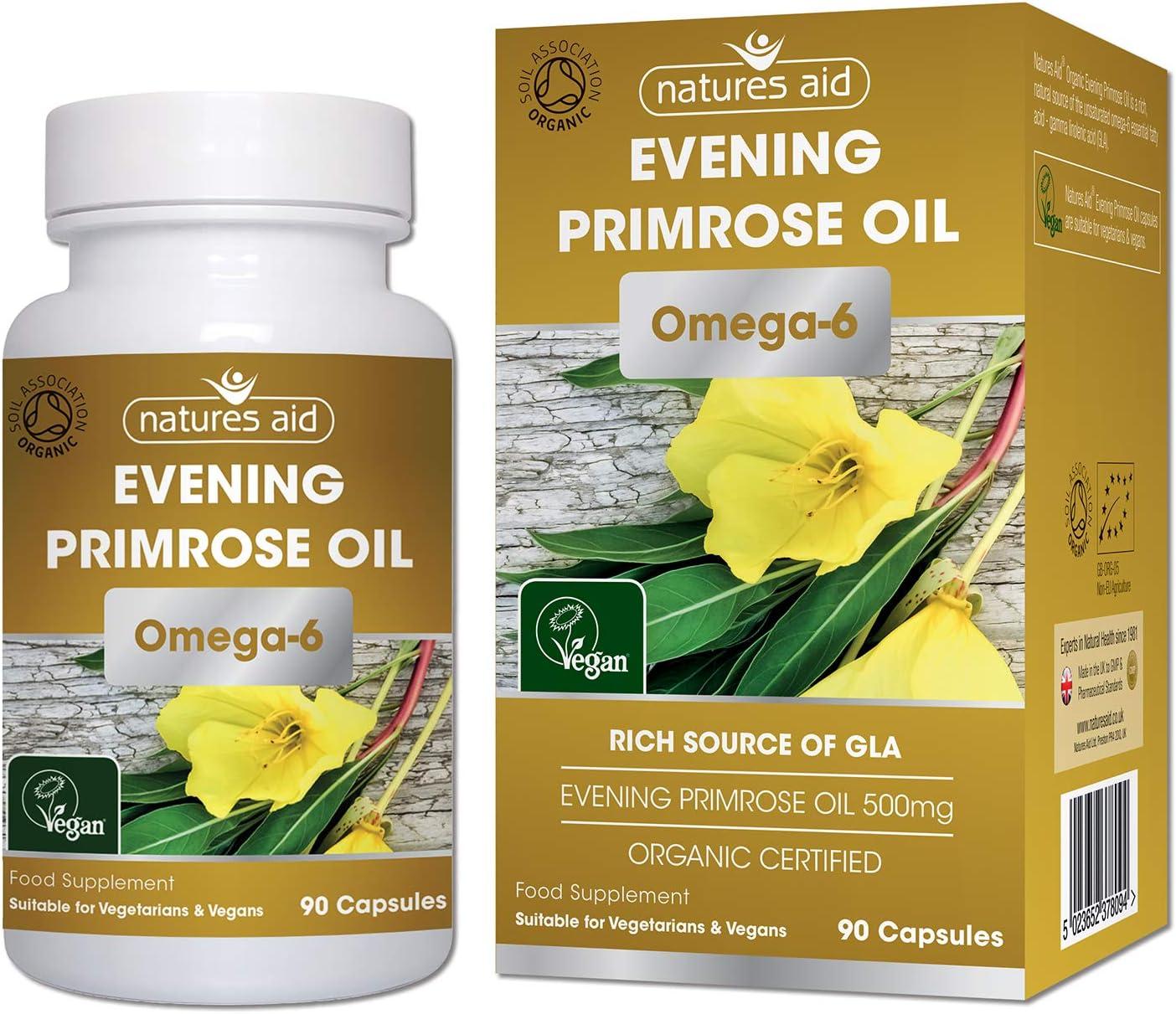 Amazon.com: Natures Aid Orgánica aceite de onagra cápsulas ...