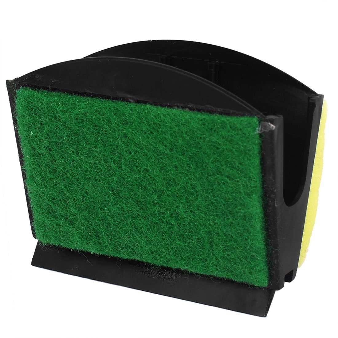 1Pc Sponge Aquarium Cleaner Brush Cleaning Tool Replacement Yellow Green
