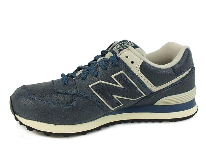 New Balance 574, Zapatillas Para Hombre, Marrón (Barrel Brown), 44 EU