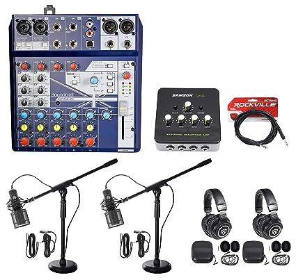 Amazon.com: 2) Mezclador de sonido para juegos de personas ...