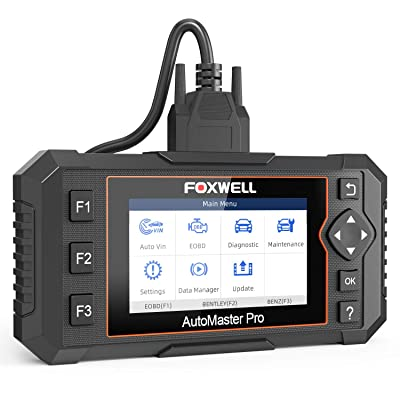 FOXWELL NT624 Elite OBD2 Scanner Automotive All Systems Diagnostic Scan Tool Vehicle Code Reader with Oil Reset and EPB Service for Cars, Check Engine Transmission ABS SRS EPS Body: Automotive