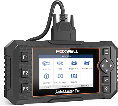 NT624 Elite is a good Foxwell scanner for hobbyists and DIY mechanics.