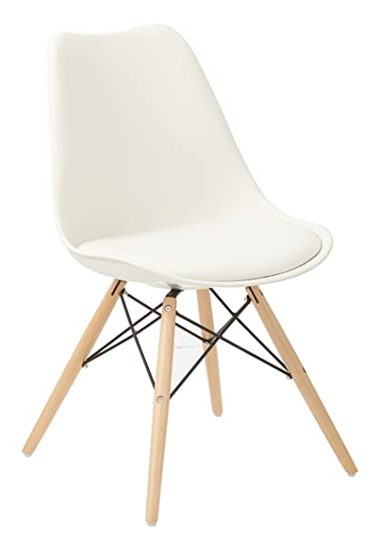 Charmant Ave Six Allen Guest Chair, White