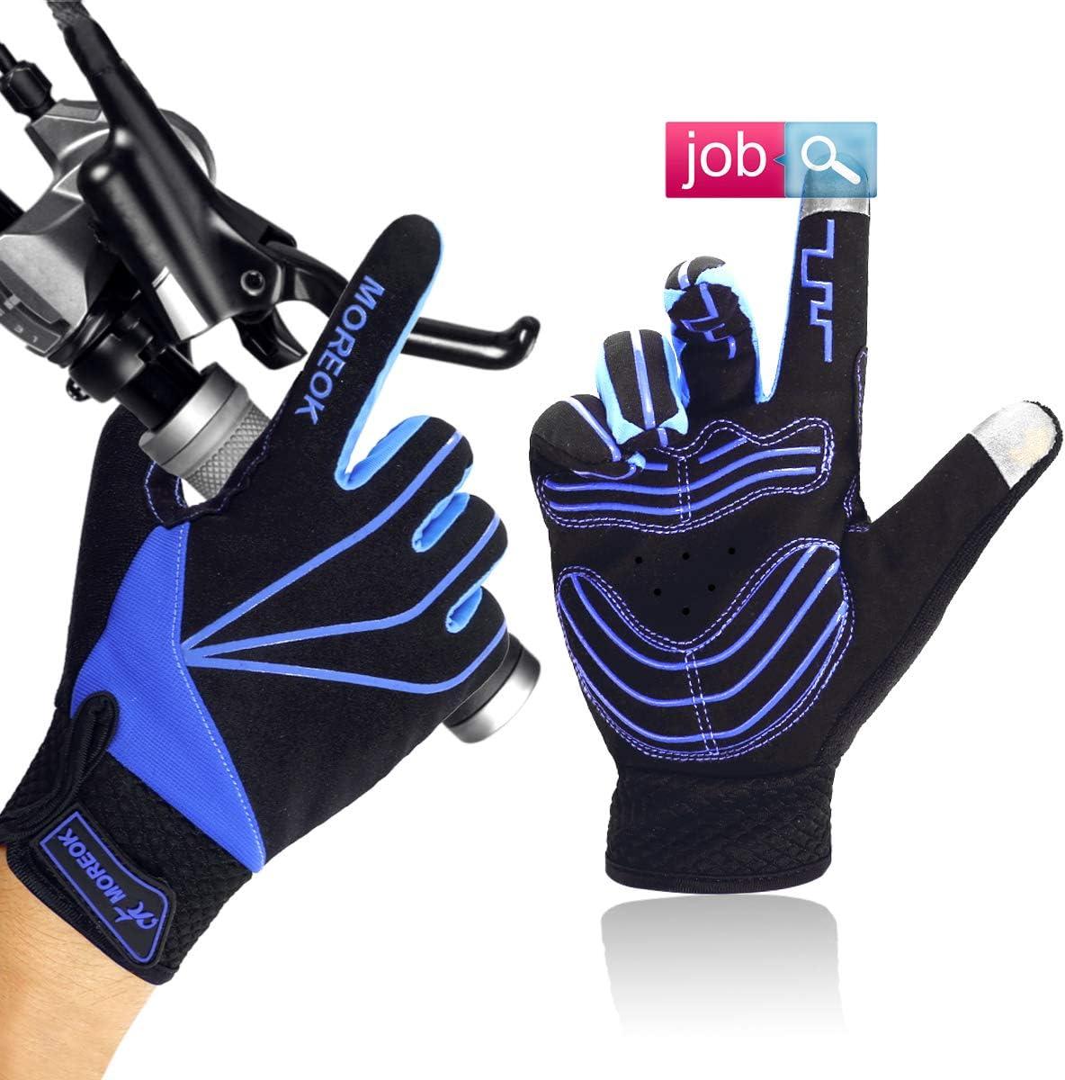 Bicycle Bike Gloves Fingerless Gel Padded Ultra Light Glove Black Unisex Adult