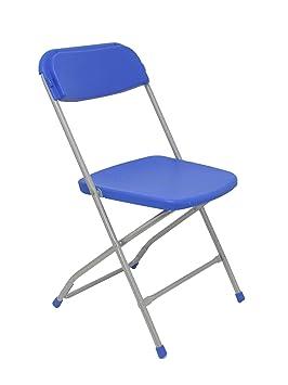 Piqueras y Crespo Pack 5 sillas Plegable de Conferencia Asiento y ...