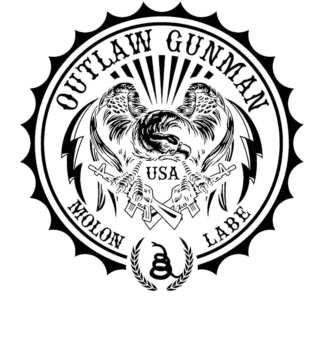 Sons Of Liberty Outlaw Gunman Long Sleeve Shirt Molon Labe