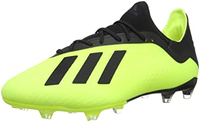 ed706e5071 adidas Herren X 18.2 Fg Fußballschuhe, Gelb (Amasol/Negbás/Ftwbla 001)