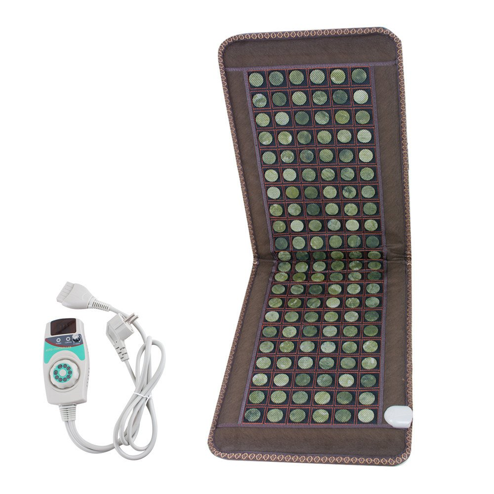 NEW Natural Jade Tourmaline Stones Infrared Heating Mat Full Body Relax Massage Ideal For Beautification And Health Care, 3-7 Days Delivery Zinnor