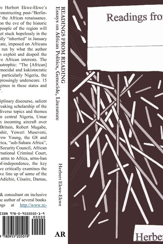Readings From Reading Essays On African Politics Genocide And  Essays On African Politics Genocide And Literature Herbert Ekweekwe   Amazoncom Books