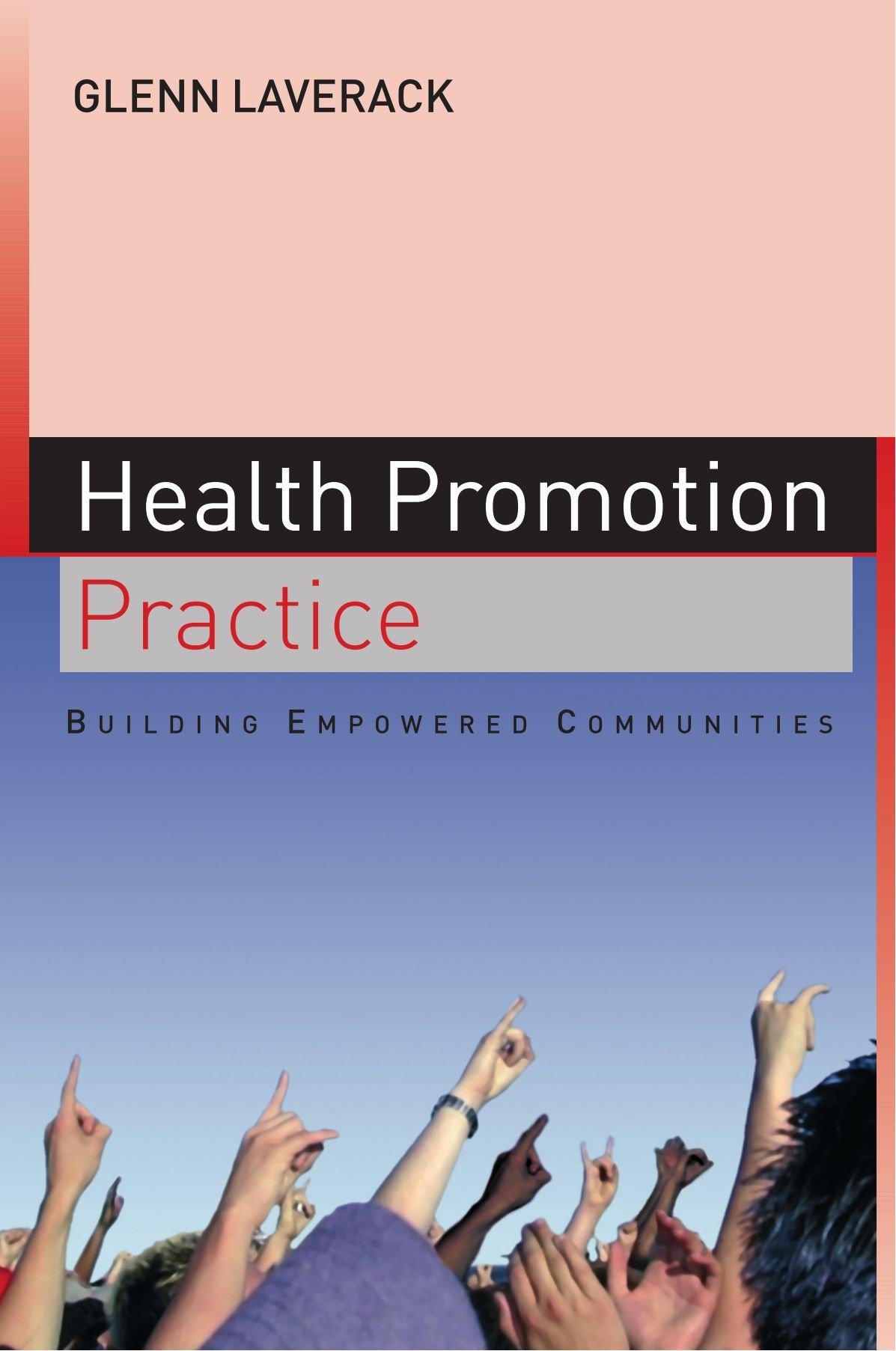 health promotion in action laverack glenn labont ronald dr