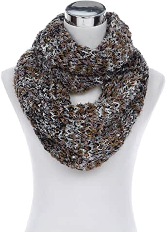 Mens and ladiestrendy black ruffle snood neck scarf round scarf in many colours