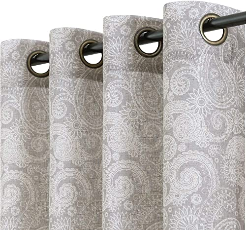 jinchan Linen Textured Curtain