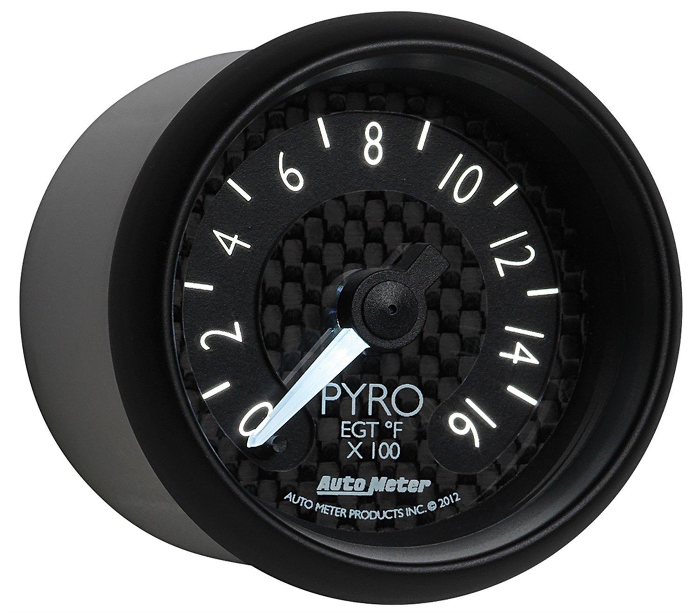 Auto Meter 8044 GT Series Electric Pyrometer/EGT Gauge by Auto Meter (Image #6)