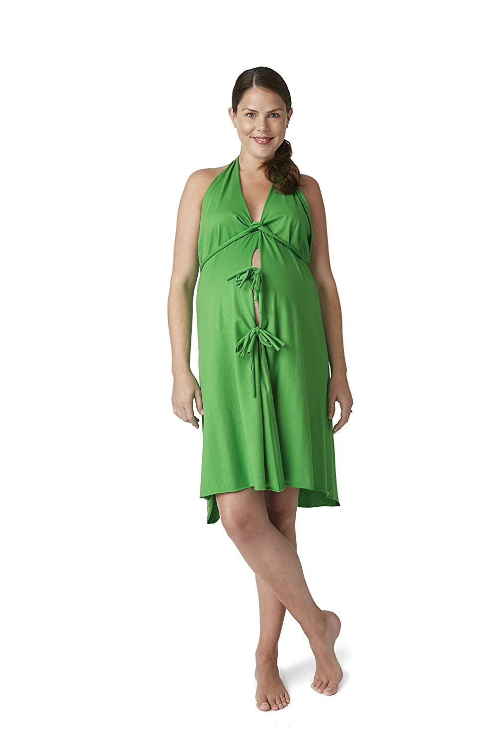 Pretty Pushers Cotton Jersey Labor Gown: Amazon.ca: Baby