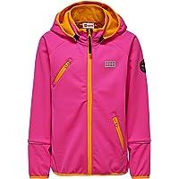 LEGO Wear Waterproof & Windproof Fleece-Lined Snow/Ski Softshell Jacket W/Chin Protector