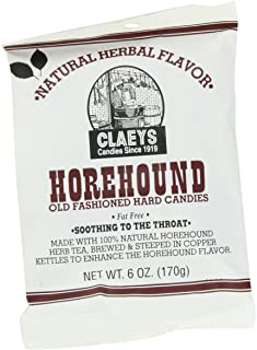 product image for Claey's Natural Horehound Drops, 6-Ounce Packages (Pack of 12)