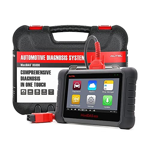This Autel Maxidas DS808 is one of the one of the professional automotive diagnostic scanners one of the professional automotive diagnostic scanners that boasts of some very powerful features.