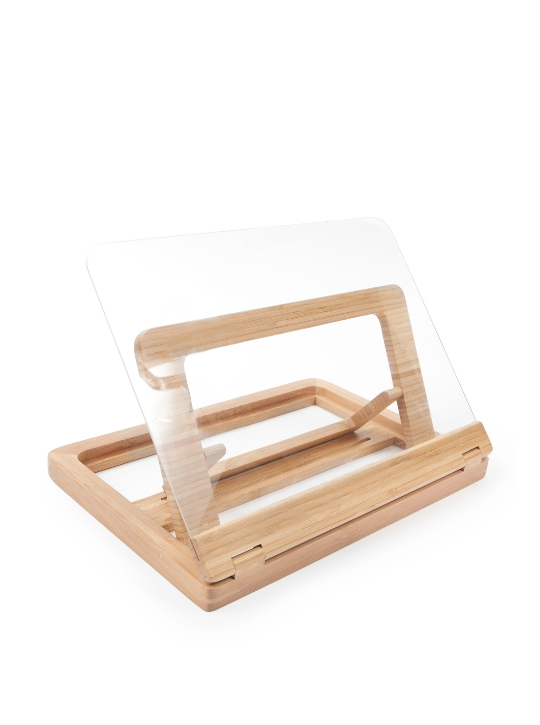 Bamboo Cookbook Holder - Made From 100% Organically Grown Bamboo