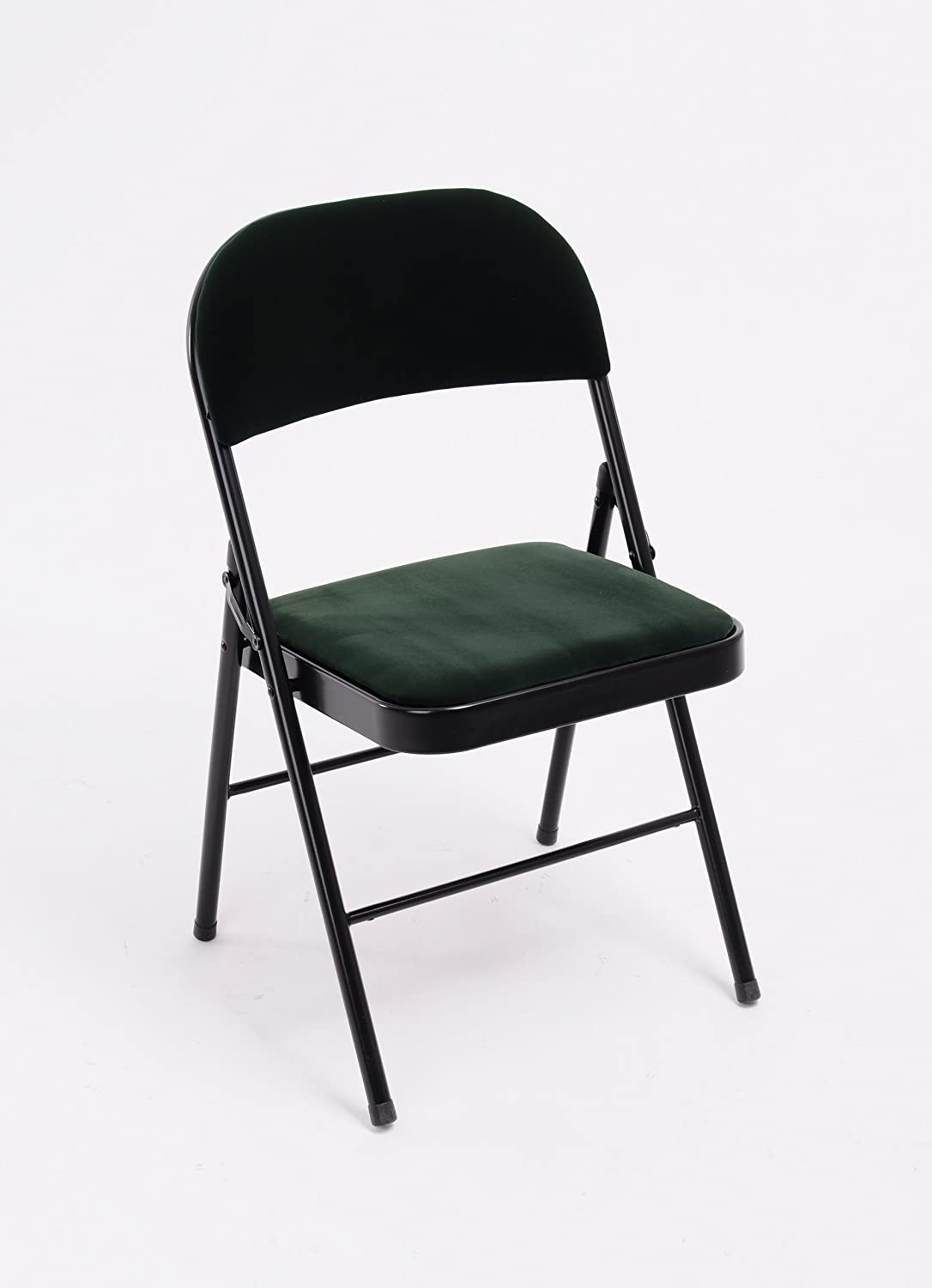 Specialshare Simplylife Metal Folding Chair With Cushion Green Amazon Co Uk Kitchen Home