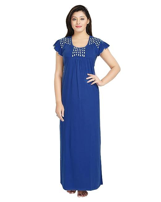 enjoy complimentary shipping big selection amazon SWEETNIGHT Women's Cotton Nighty