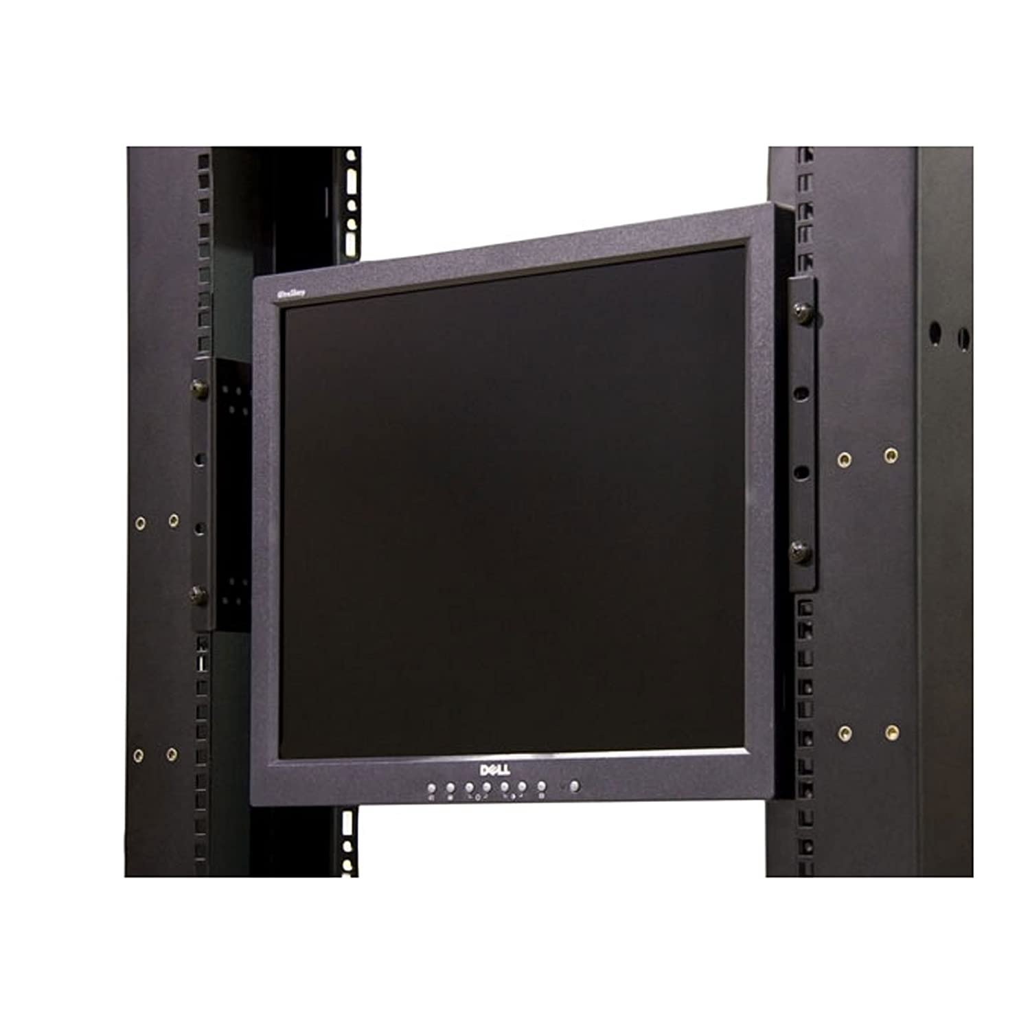 Com Lcd Monitor Mounting 17 19in Bracket For Racks Cabinets Rklcdbk Electronics