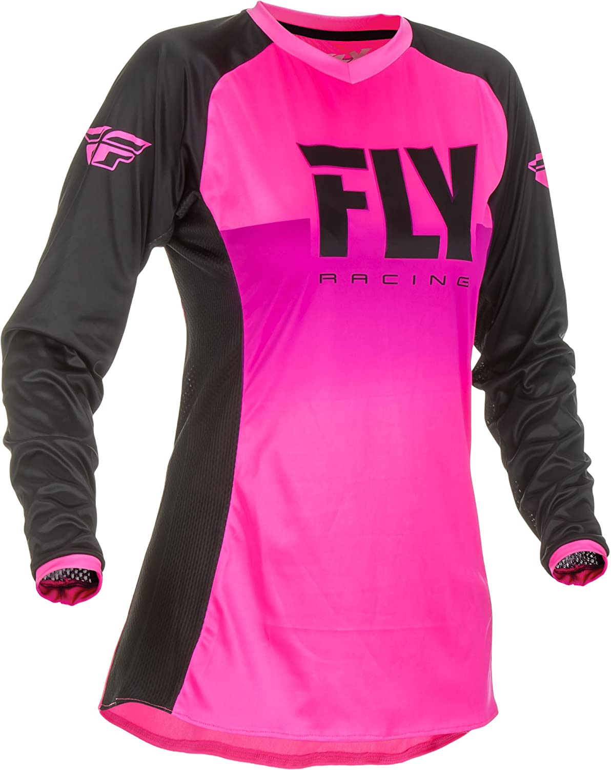 Fly Racing 2019 Womens Lite Jersey and Pants Combo Neon Pink//Black Small 03//04
