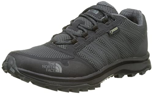 The North Face Litewave Fastpack Mens Hiking Shoes Online Shady Blue/Zinc Grey