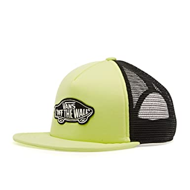 Vans Classic Patch Trucker Boys, Gorra para Niños, Amarillo (Sunny Lime TCY)