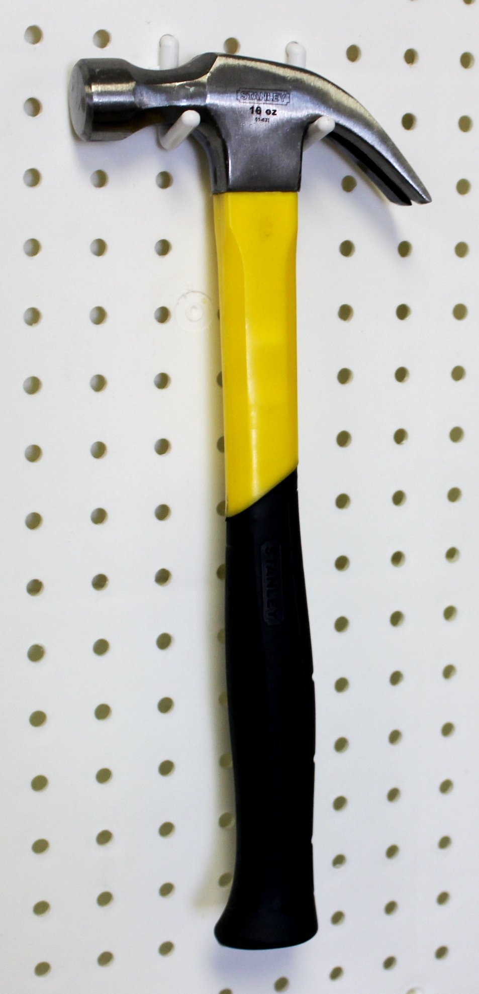 WallPeg 80 pc. Assorted White Peg Hooks - Garage Storage & Tool Organizer by WallPeg (Image #5)
