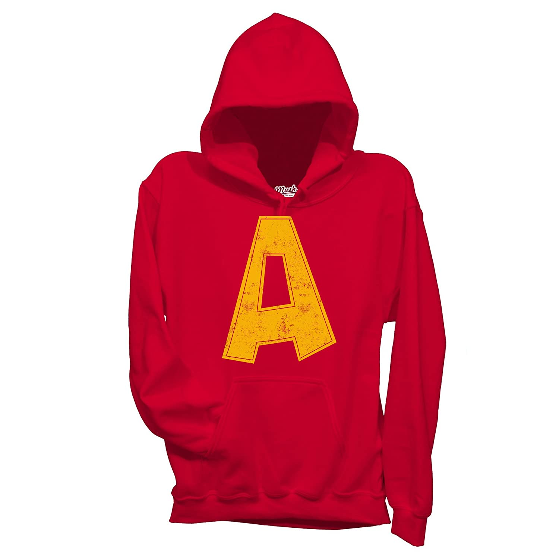 Felpa Alvin Superstar Cartoon - Cartoon by Mush Dress Your Style - Uomo-XL-Rossa mushF-IT-2656-M-RED-04