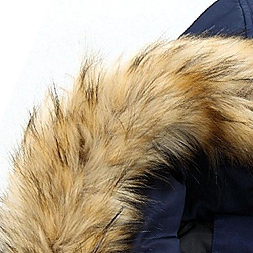 Capuchon Parkas Newbestyle Manteau Hiver Froid Épaissir Homme S20161019j À Fourrure xXHCYS