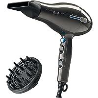 Imetec Salon Expert P2 2200 Asciugacapelli Professionale Scelto da Diego Dalla Palma, 2200 W, Tecnologia a Ioni, Rivestimento in Ceramica e Tormalina, Diffusore Professionale a Dita Incluso
