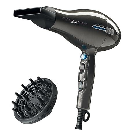 Imetec P2 2200 Negro 2200 W - Secador de pelo (Corriente alterna, 42,