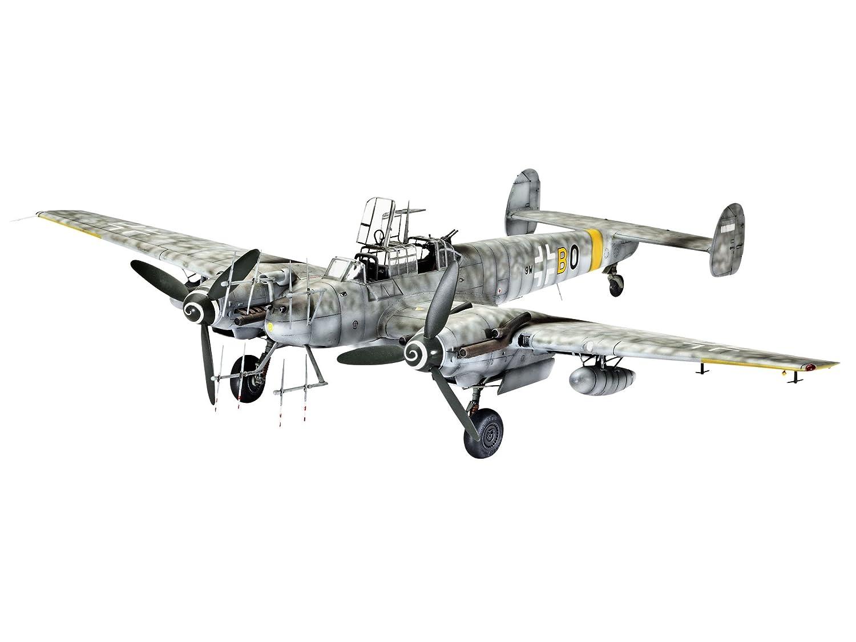 ドイツレベル 1/48 メッサーシュミット Bf110G-4 夜戦 04857 プラモデル B00BECI2RQ