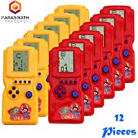 PNT Hand Battery Operated Video Game for Return Gift Purpose. (12 Pieces).
