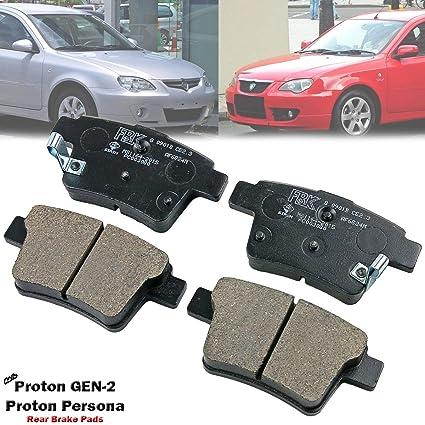 Amazon com: Rear Disc Brake Pad For Proton GEN 2 GEN-2 GEN2 Persona