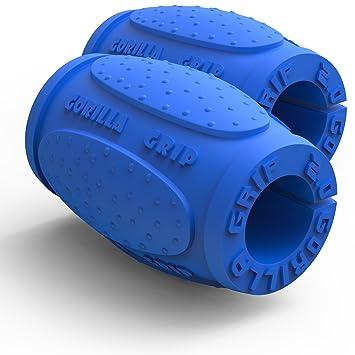 Gorilla Grip 2.0 levantamiento de pesas de grosor Grips – Fitness – Accesorio para pesas,