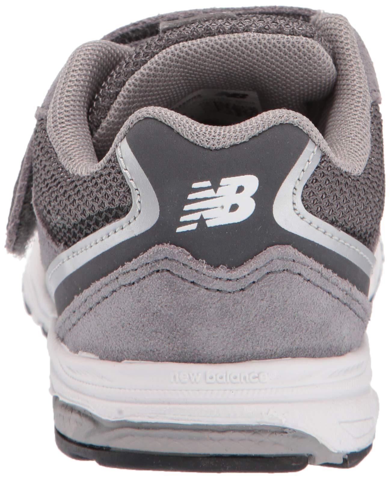 New Balance Boys' 888v2 Hook and Loop Running Shoe, Dark Grey, 2 M US Infant by New Balance (Image #2)