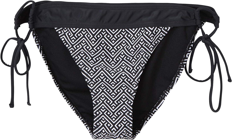 Mountain Warehouse Ocean Notion Bikini Bottoms Wide Waistband Shorts Chlorine Resistant Lightweight Womens Beachwear Quick Drying Swimsuit for Pool /& Diving