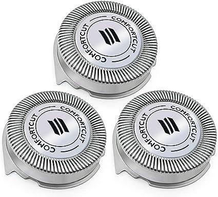Cabezal de afeitado eléctrico de repuesto WellTech, compatible con ...