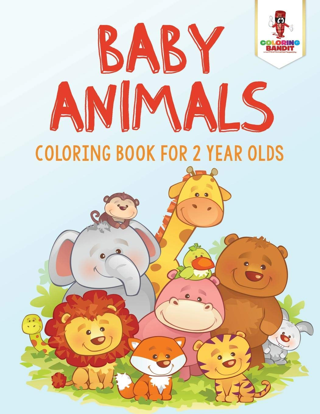 99+ Coloring Book 10 Baby Animals Free