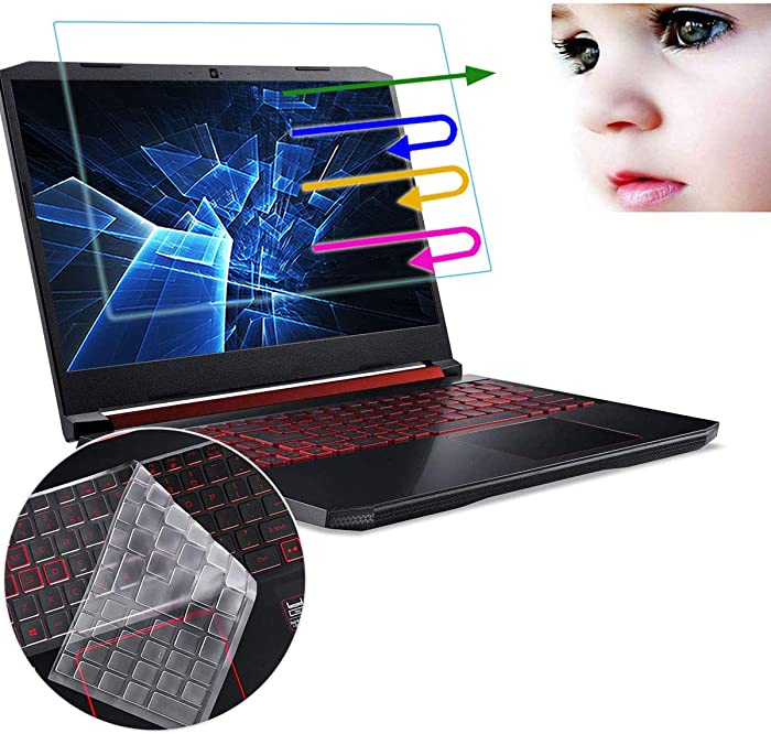 """Anti Blue Light Screen Protector Fit 2020 2019 Acer Predator Helios 300 PH315-52 15.6"""" 