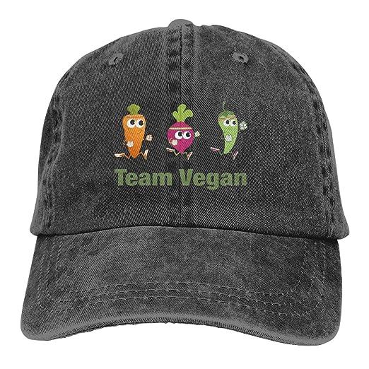 6f86e0c09 Aiguan Team Vegan Premium Cowboy Baseball Caps Trucker Hats Black at ...
