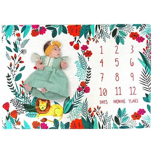 Amazon.com: Manta de franela para bebés de 0 a 1 años con ...