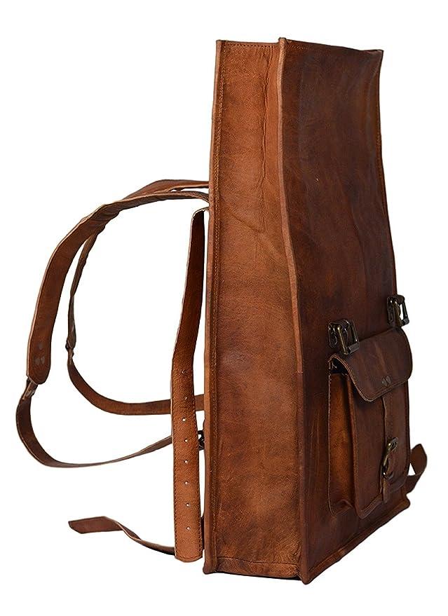 5c875bd7d8e9 Leather Classy Bags  Retro Vintage Dapper Sailor Rucksack Backpack Bag Bags  For Men Women Boys Girls Male Female Branded For ...